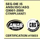 View our ANSI/ISO/ASQ Q9001-2000 Certificate